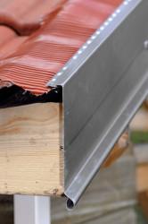 Bande de rive biseau  bavette plomb aluminium ardoise - 2 mètres