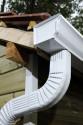 Coude latéral B extérieur aluminium blanc