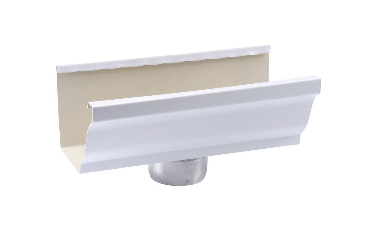 Naissance cylindrique aluminium blanc