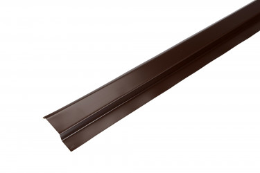 Solin mastic aluminium marron - 2M