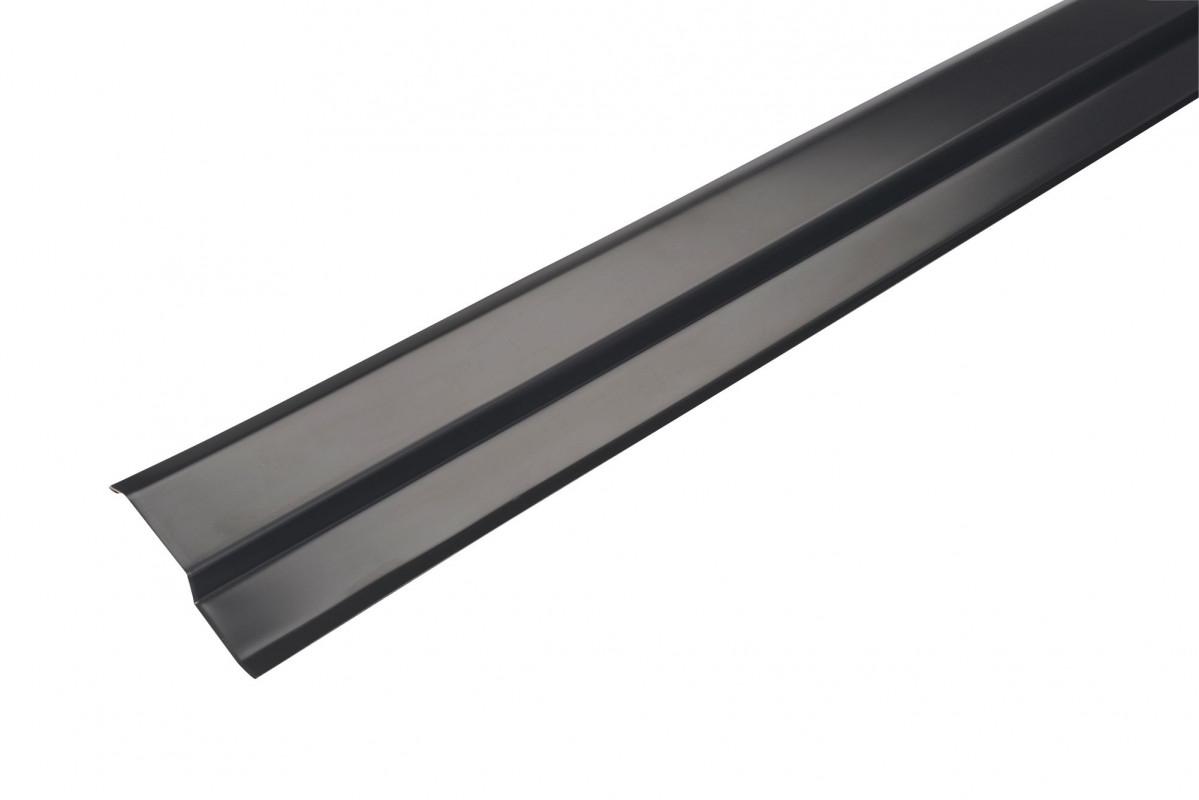 Solin biseau aluminium ardoise - 2M