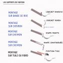 Fixation fibro cuivre