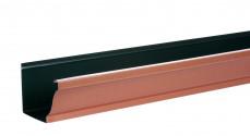 Gouttière 300 4M aluminium cuivre rosé