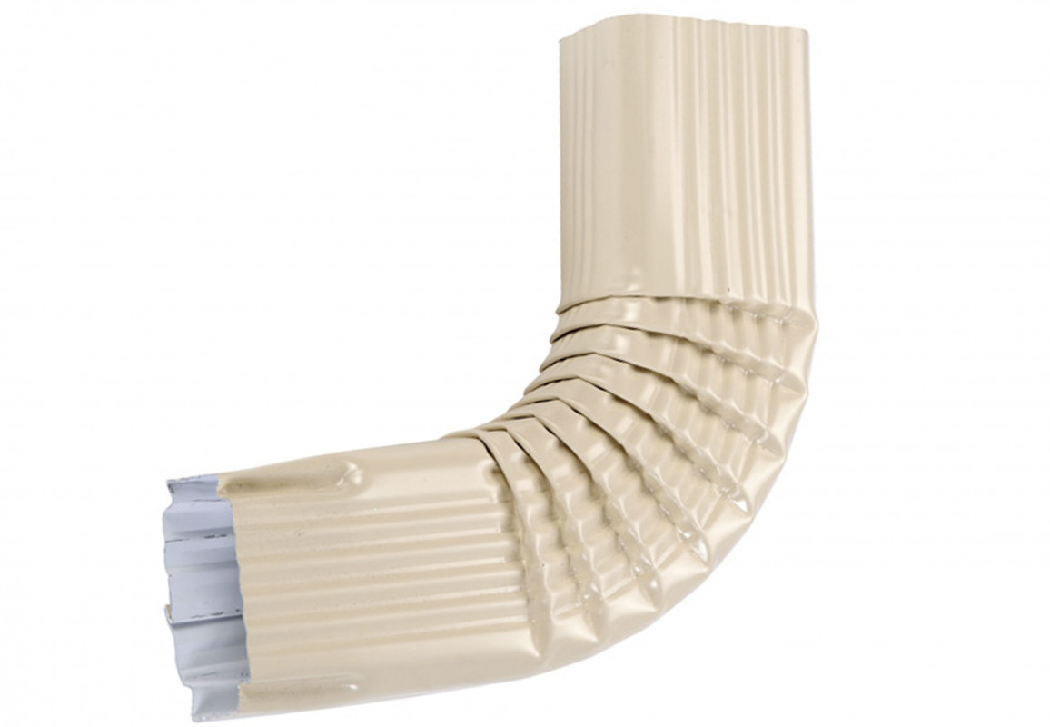 Coude latéral (A) intérieur aluminium sable