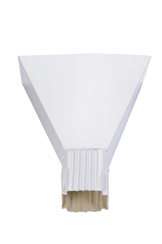 Branchement aluminium blanc