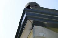 Angle extérieur 90 ° aluminium blanc