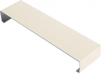 Eclisse couvertine aluminium sable 2 mètres