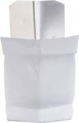 Angle extérieur 135° gouttière aluminium blanc G300