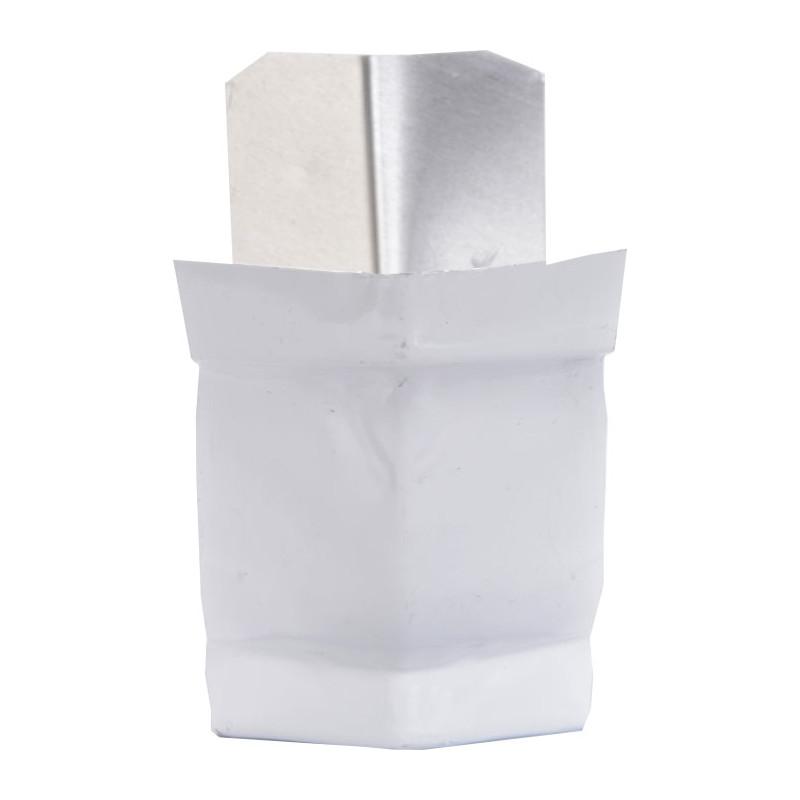 Angle extérieur 135° aluminium blanc