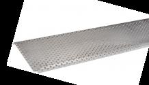 pare-feuille aluminium 1 mm pour Gouttière demi-ronde 33/100 2 mètres