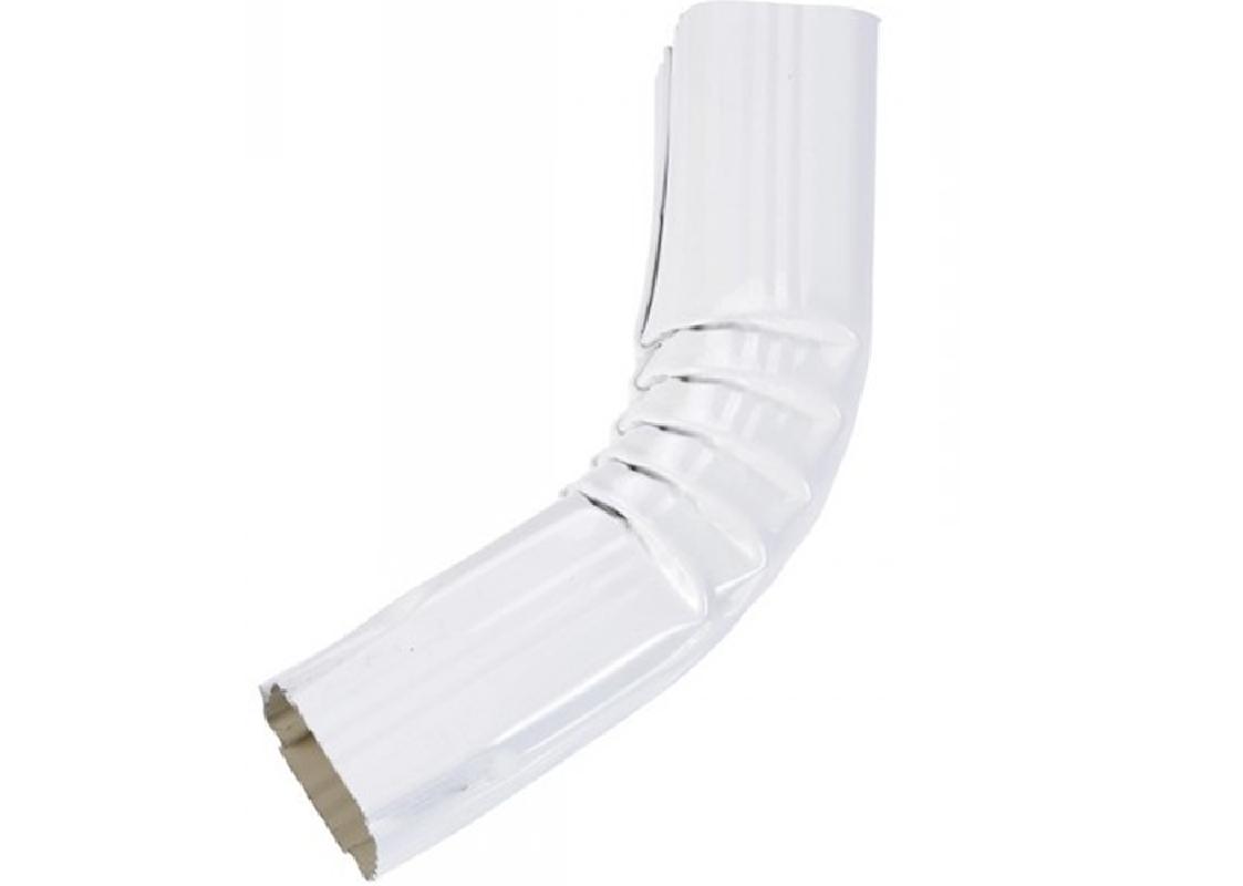Coude frontal (A) intérieur aluminium blanc 60X80