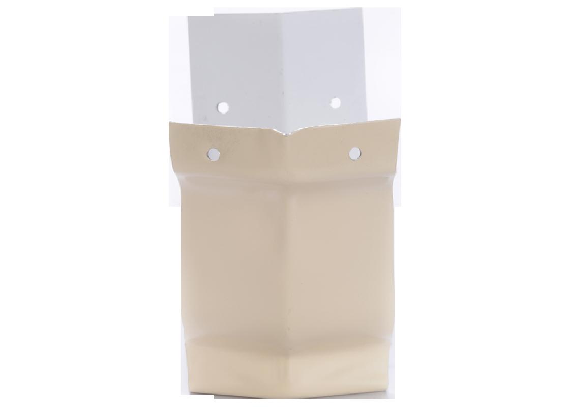 Angle extérieur 135° gouttière aluminium sable G300