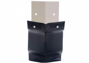 Angle extérieur 135° aluminium noir