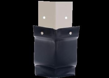 Angle extérieur 135° gouttière aluminium noir G300
