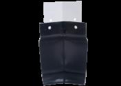 Angle intérieur 135° gouttière aluminium noir G300