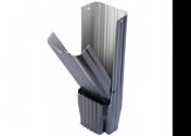 Récupérateur eau aluminium Gris ardoise 60X80