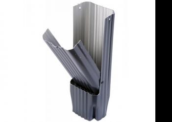 Récupérateur eau aluminium Gris ardoise