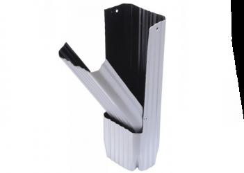 Récupérateur eau aluminium gris métal