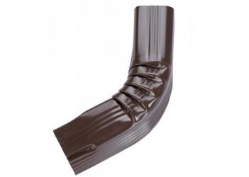 Coude latéral (A) intérieur aluminium Brun 60X80