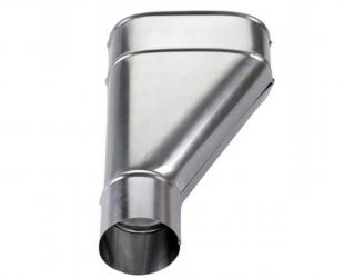 Branchement zinc 80 mm