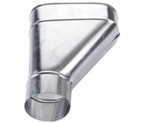 Branchement zinc 100 mm