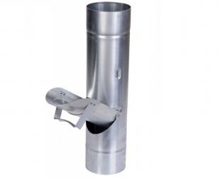 Récupérateur d'eau clapet zinc 100
