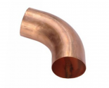 Coude cuivre 80 mm mâle/femelle
