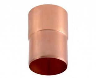 Manchon cuivre 80 mm mâle/femelle