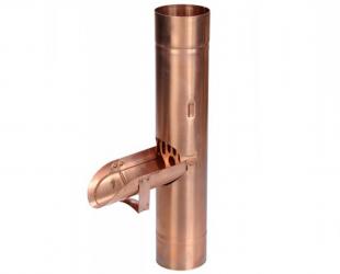 Récupérateur d'eau clapet cuivre 80 mm