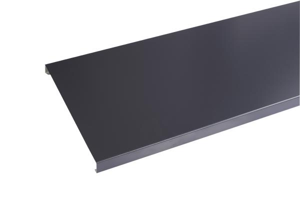 Couvertine Aluminium Gris Ardoise 2m Brico Toiture