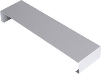 Eclisse couvertine aluminium  1 mm Gris métal RAL 9006