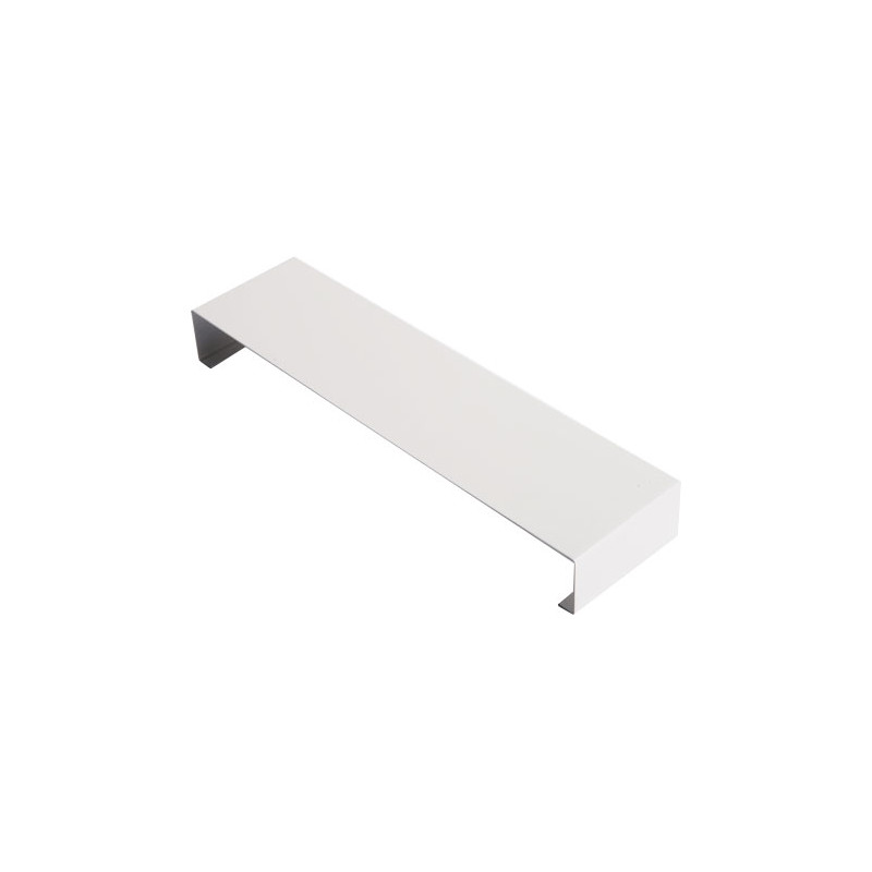Eclisse couvertine aluminium 1 mm Blanc RAL 9010