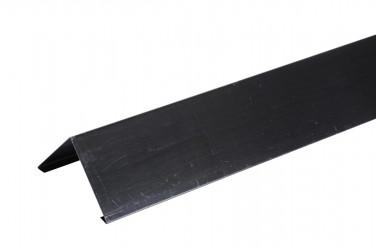 Faitage à pince bardeau 2ML zinc prépatiné