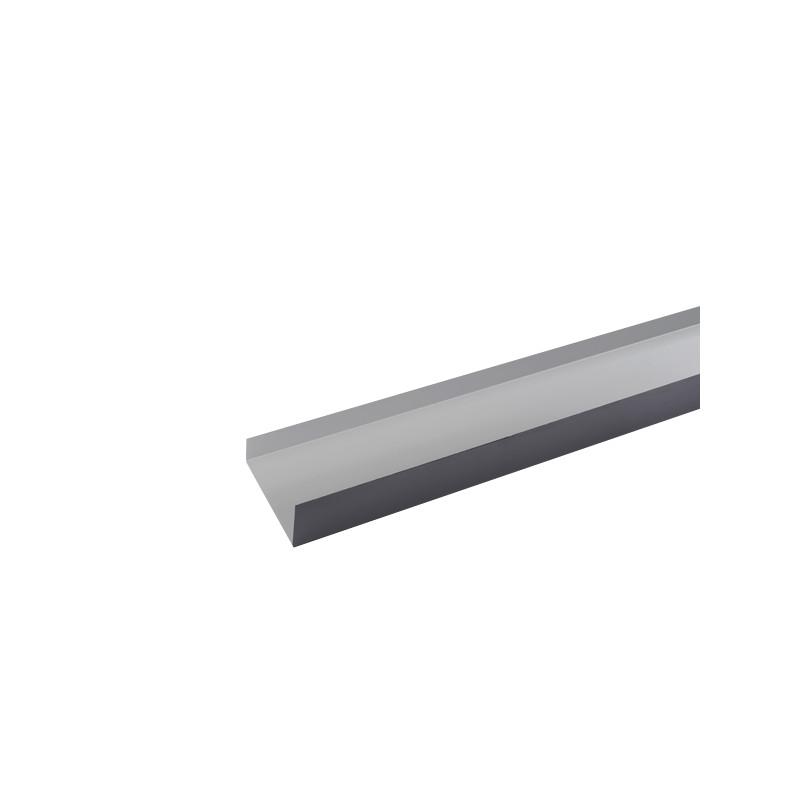Cheneau ( couloir) Aluminium gris ardoise 2 mètres