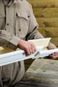 Naissance latérale gouttière aluminium sable G300