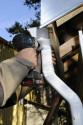 Vis autoforeuse aluminium sable X 10 RAL 1015