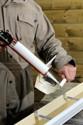 Naissance latérale gouttière aluminium miel G300