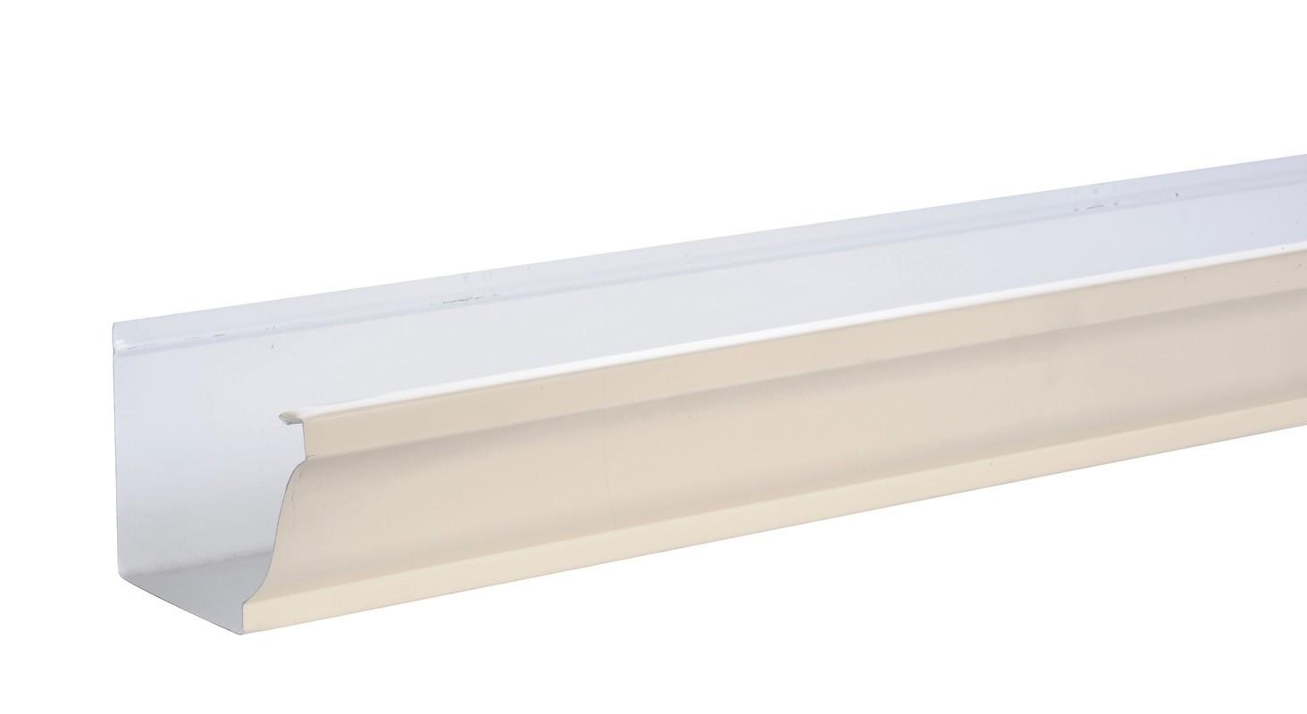 Gouttière aluminium sable - 3 mètres