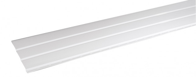 Sous-face Aluminium 356  mm blanc 2 mètres