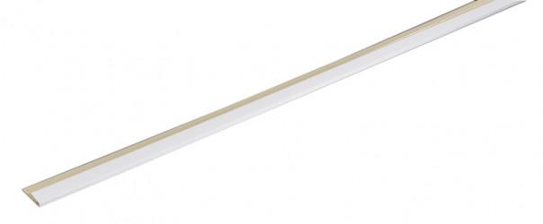 Couvre joint pour sous-face aluminium blanc 3 mètres