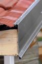 Bande de rive biseau ZINC 333 bavette Aluminium souple rouge tuile - 2M