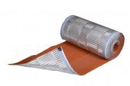 Closoir souple Aluminium laqué couleur tuile avec bande de butyle 5 ML