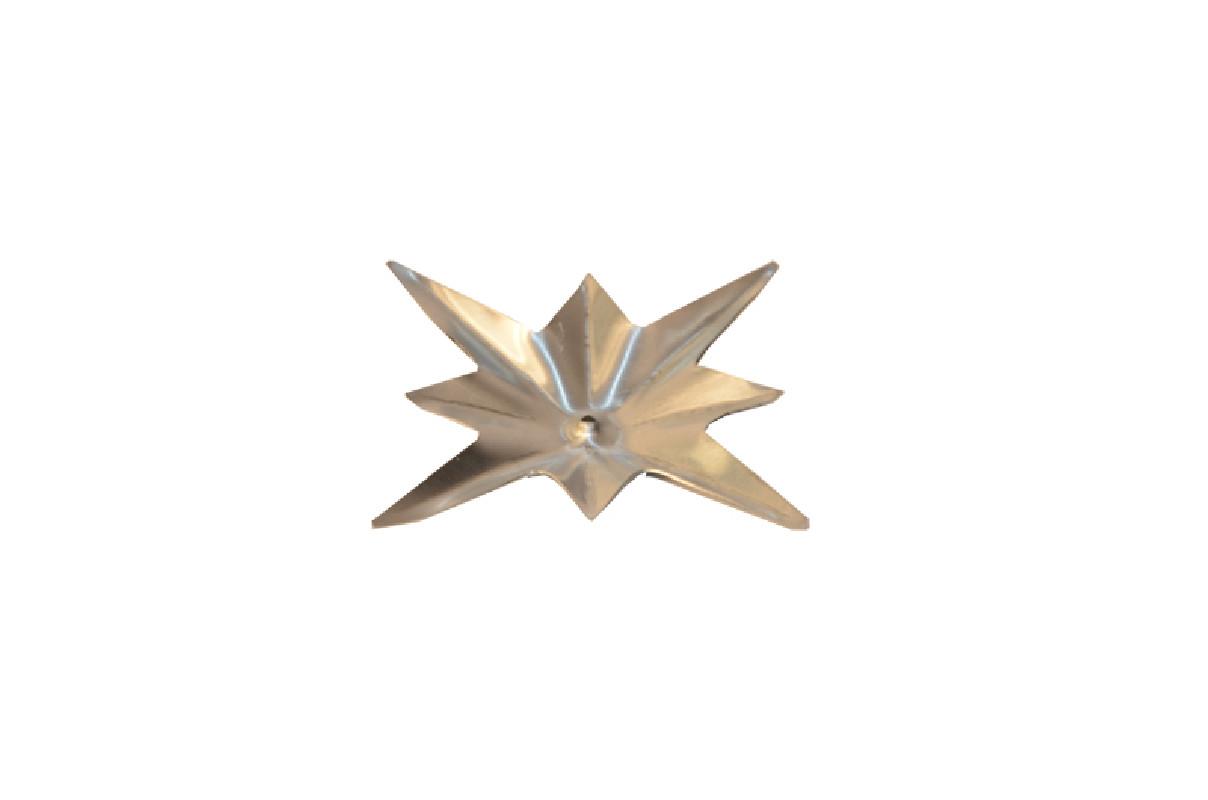 Ornement étoile ZINC