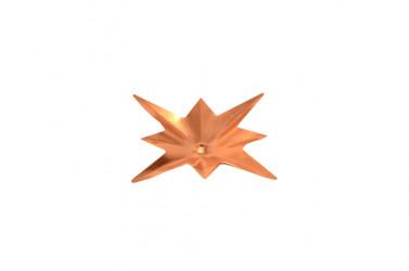 Ornement étoile CUIVRE