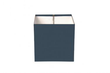 Boîte à eau Aluminium gris ardoise 7016 200 X 200 sortie rectangulaire 60 X 80