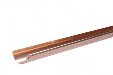 Gouttière demi- ronde développé 16/60 2ML cuivre