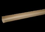 Gouttière PVC Sable demi-ronde dev 25 - 4 mètres