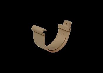 Jonction gouttière PVC sable à coller 25