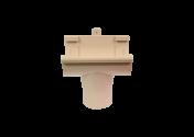 Naissance centrale PVC sable à coller 25
