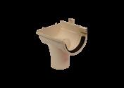 Naissance gauche PVC sable à joint 25